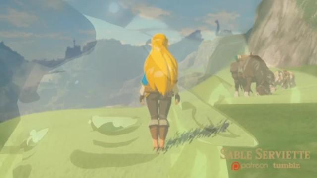 3d Hentai Legend Of Zelda Breath Of The Wild And Link
