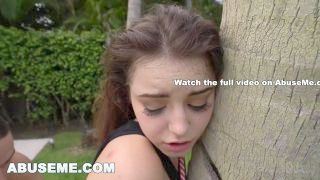 Abuse Me - Young Kylie Quinn Wants To Get Pounded Rough By Her Mega Willy Lord