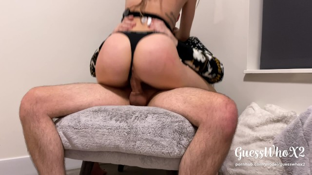 Cum Inside Me—tight Pussy Teen With Big Ass Rides Dick! Loud Moaning Orgasm