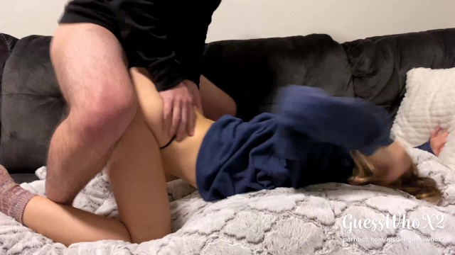Real Amateur College Couple Thong Fuck After Class, Pussy Eating Orgasm 4k