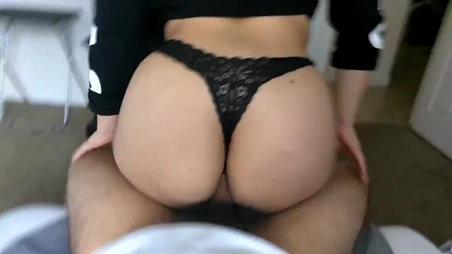Fucking My Landlords Daughter In Their Guest Room! Round Big Ass Thong Fuck
