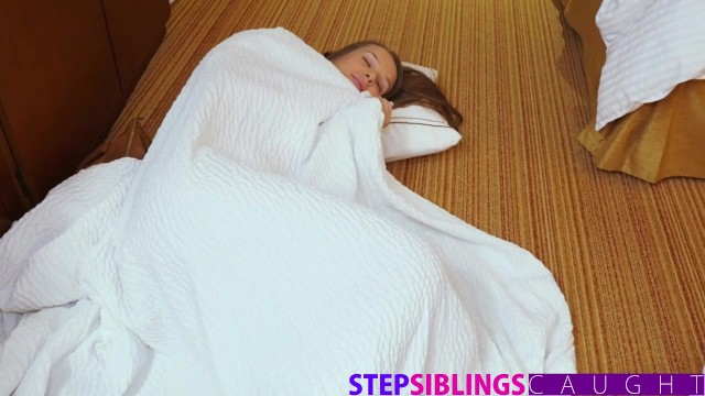 Stepsiblingscaught - Fucking My Lil Step Sis Liza Rowe While Mom Sleeps